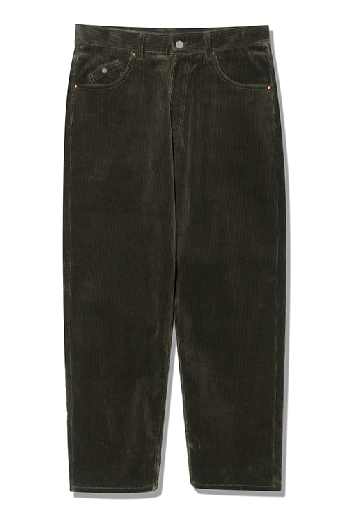 画像1: 【Back Channel】CORDUROY BAGGY PANTS (1)