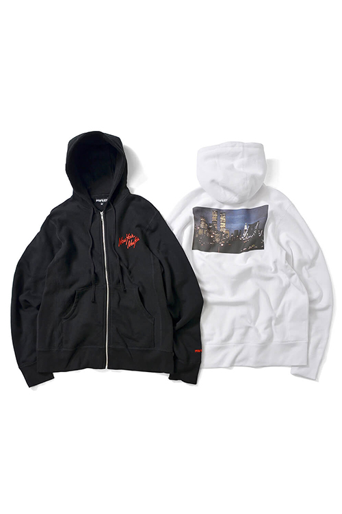 画像1: 【PRIVILEGE】 NYNY TWIN TOWER ZIP UP HOODIE (1)