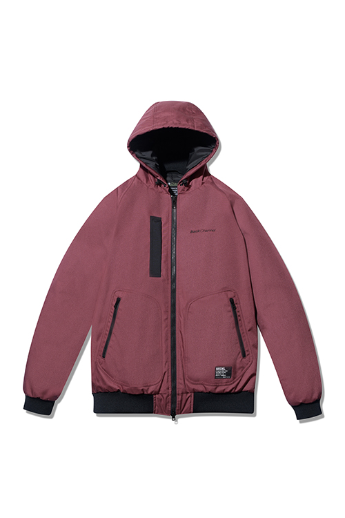 画像1: 【Back Channel】CORDURA NYLON HOODED JACKET (1)