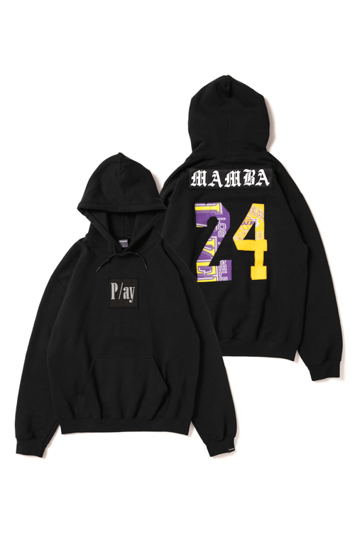 "画像1: 【APPLEBUM】PLAY for APPLEBUM 「THE  NUMBER」 ""MAMBA"" Sweat Parka (1)"