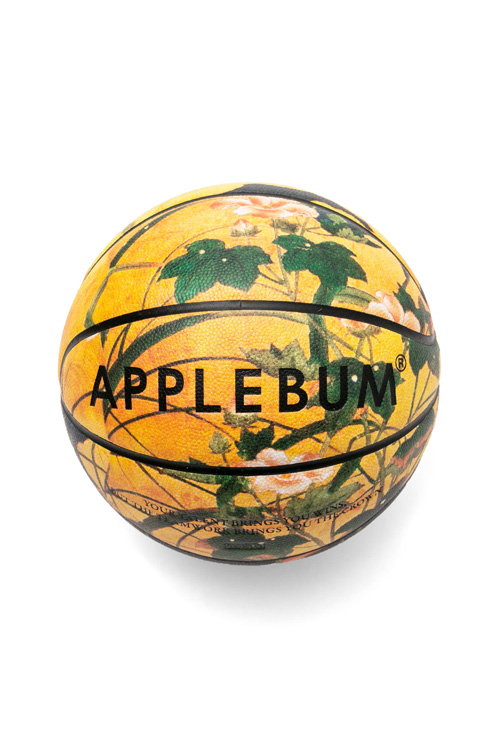 "画像1: 【APPLEBUM】APPLEBUM×TACHIKARA ""花鳥風月""Basketball (1)"