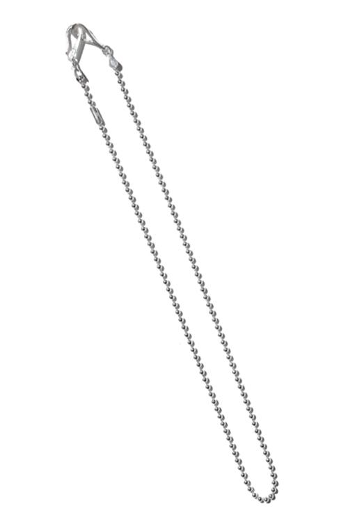 画像1: 【LARRY SMITH】 BALL CHAIN NECKLACE (60cm) (1)