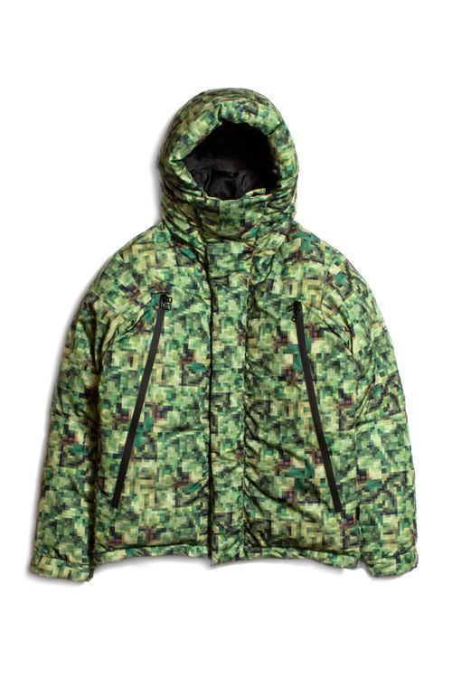 "画像1: 【APPLEBUM】""Pixel"" Innercotton Hood Jacket (1)"