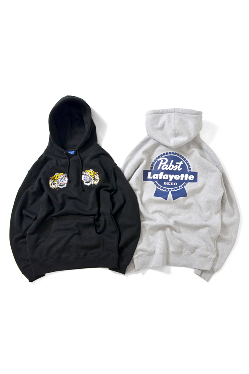 画像1: 【LAFAYETTE】 × PABST BLUE RIBBON – TIGER PULLOVER SWEAT SHIRT (1)
