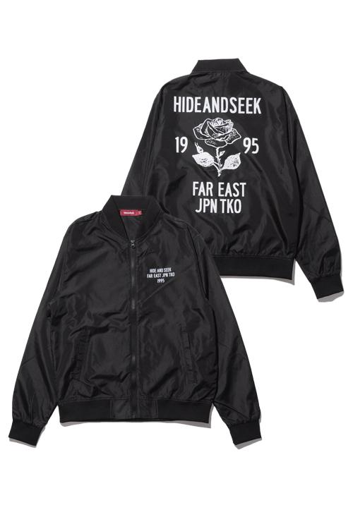 画像1: 【HIDEANDSEEK】Zip Sports Jacket (1)