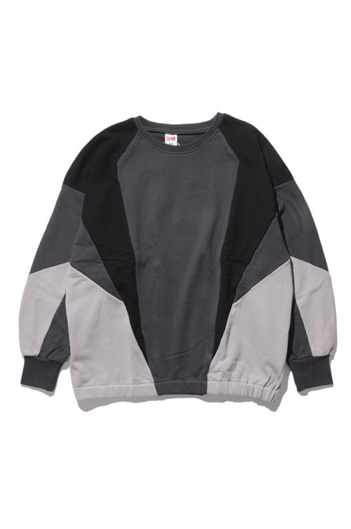 画像1: 【VOTE MAKE NEW CLOTHES】SWITCH  CREW SWT (1)