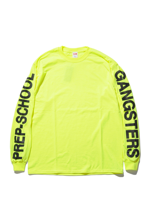 画像1: 【VOTE MAKE NEW CLOTHES】P.S.G  LOGO L/S TEE (1)