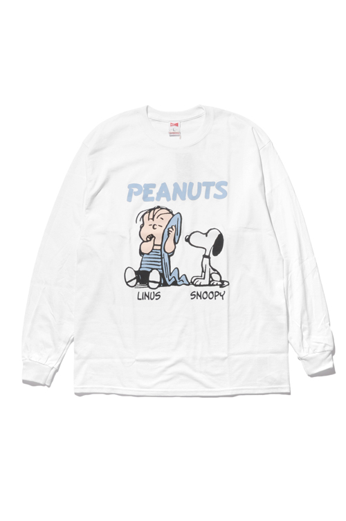 画像1: 【VOTE MAKE NEW CLOTHES】LINUS & SNOOPY L/S TEE (1)
