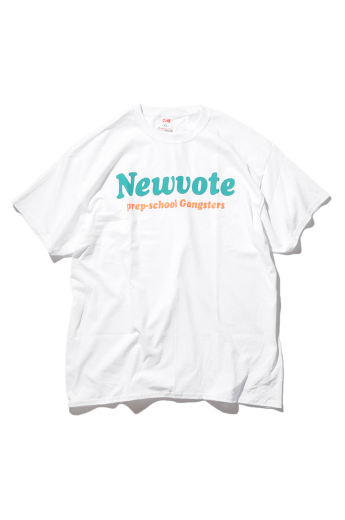 画像1: 【VOTE MAKE NEW CLOTHES】NEWVOTE TEE (1)
