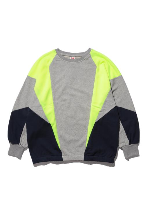 画像1: 【VOTE MAKE NEW CLOTHES】SWITCH  CREW SWT(NEON) (1)
