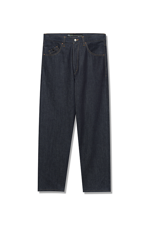 画像1: 【Back Channel】NON WASH BAGGY DENIM (1)