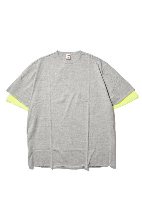 画像1: 【VOTE MAKE NEW CLOTHES】LAYER MESH TEE (1)
