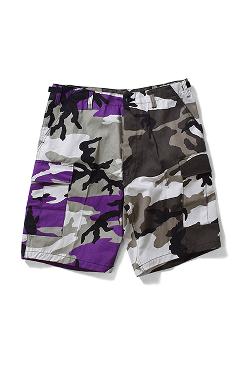 画像1: 【ROTHCO】TWO TONE CAMO BDU SHORT (1)