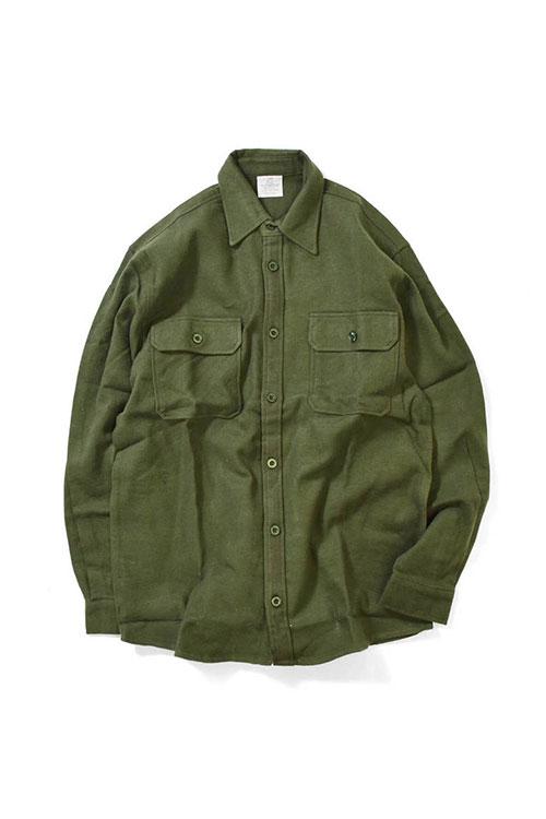 画像1: 【ROTHCO】Rothco Heavy Weight Solid Flannel Shirt (1)