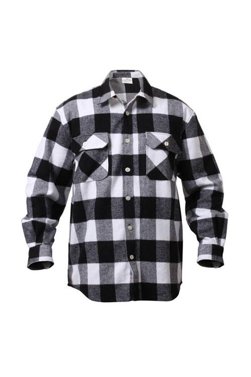 画像1: 【ROTHCO】Rothco Extra Heavyweight Buffalo Plaid Flannel Shirt (1)