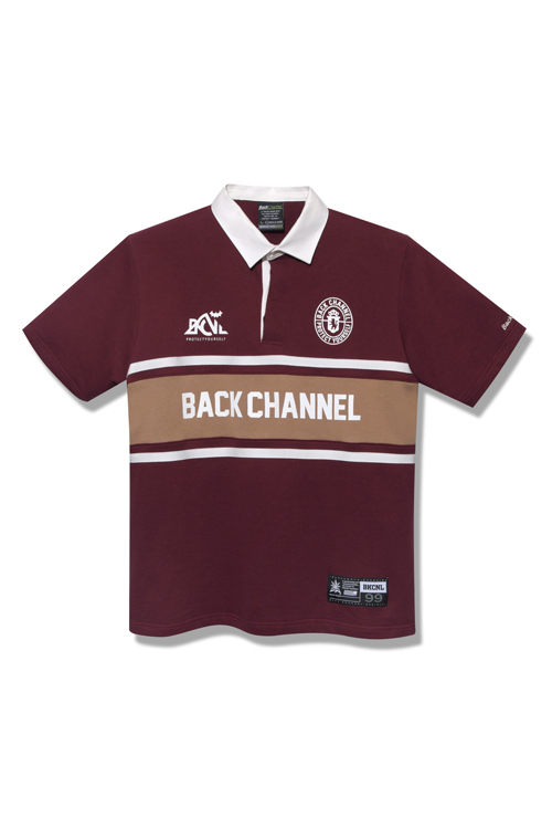 画像1: 【Back Channel】RUGBY H/S SHIRT (1)