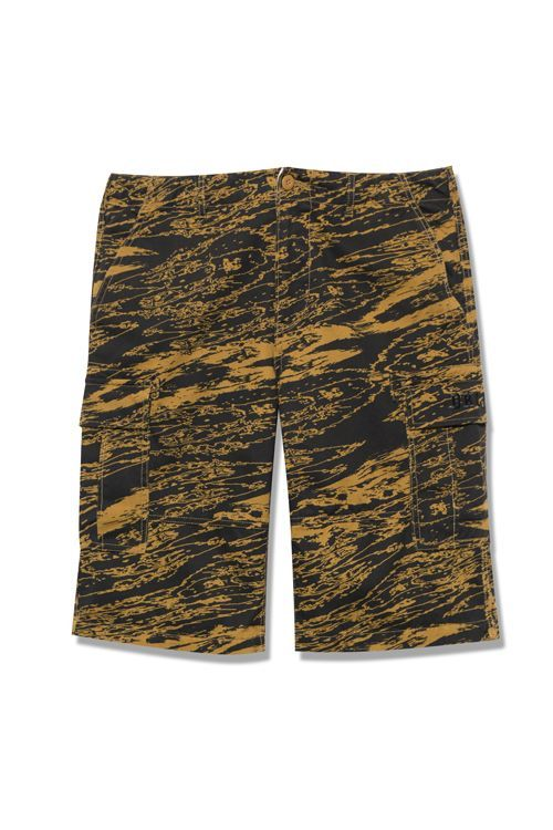 画像1: 【Back Channel】GHOSTLION CAMO CARGO SHORTS (1)