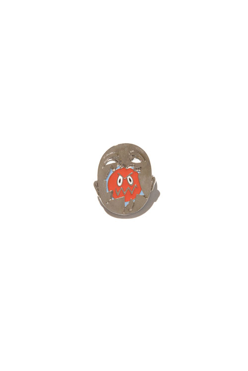 画像1: 【 HOCKEY 】 Broken Face Pin (1)