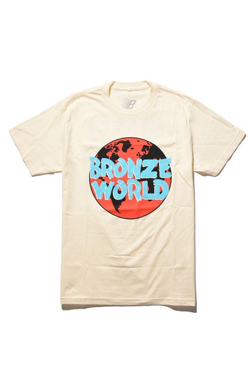 画像1: 【 BRONZE 56K】 BRONZE WORLD TEE (1)