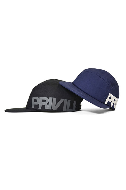 画像1: 【PRIVILEGE】 CORE LOGO CAMP CAP  (1)
