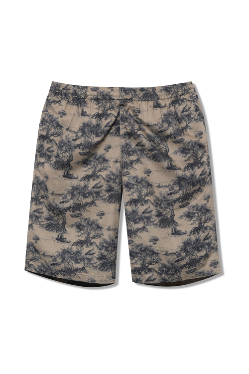 画像1: 【Back Channel】SWAMP EASY SHORTS (1)