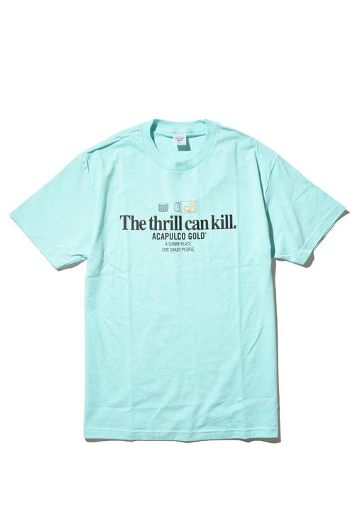 画像1: 【ACAPULCO GOLD】 THRILL KILL TEE (1)