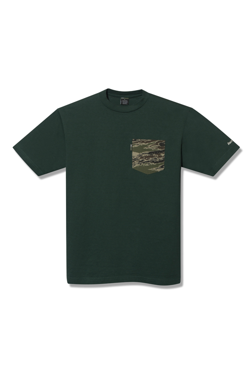 画像1: 【Back Channel】GHOSTLION CAMO POCKET T (1)