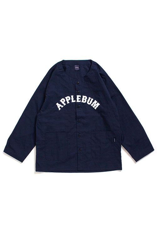 画像1: 【APPLEBUM】Long Sleeve Baseball Shirt (1)