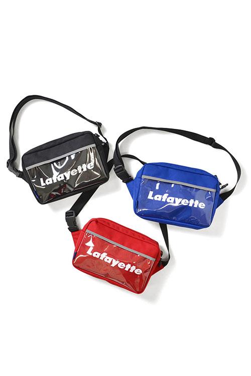 画像1: 【LAFAYETTE】 CLEAR POCKET SHOULDER BAG (1)
