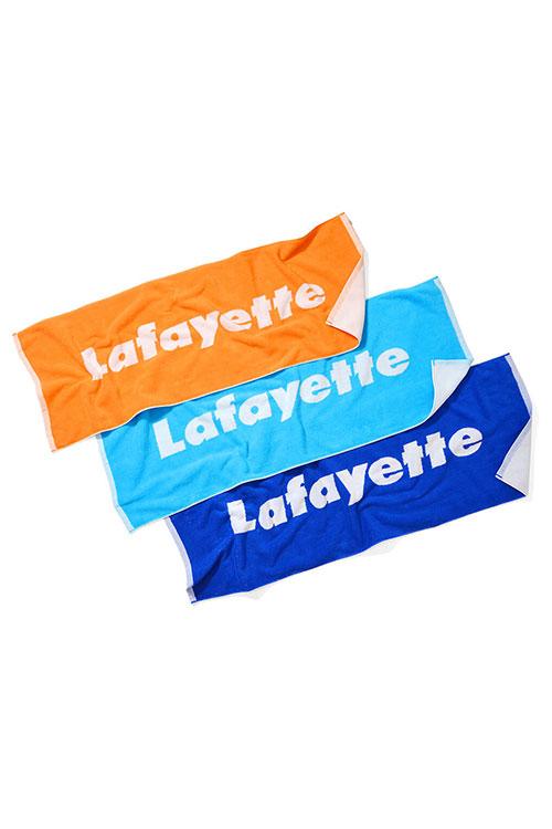 画像1: 【LAFAYETTE】 LOGO JACQUARD SPORTS TOWEL (1)