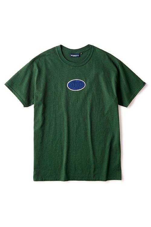 画像1: 【INTERBREED】 Oval Logo SS Tee (1)