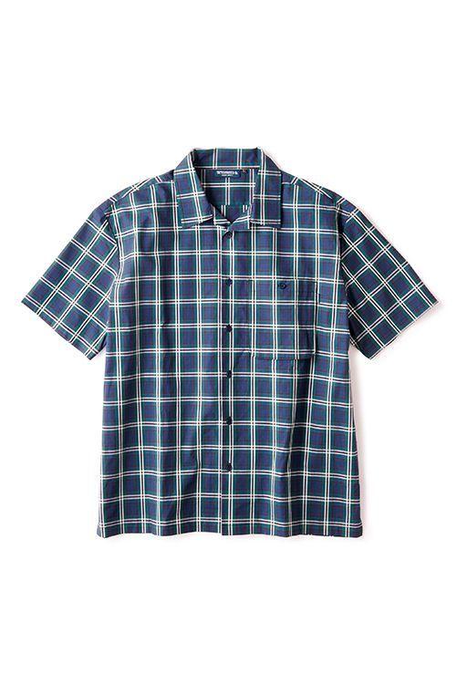 画像1: 【INTERBREED】 Patterned Pajama Shirts (1)