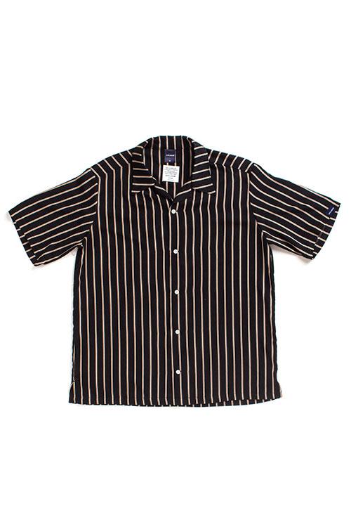 画像1: 【APPLEBUM】Regimental Stripe Aloha S/S Shirt (1)