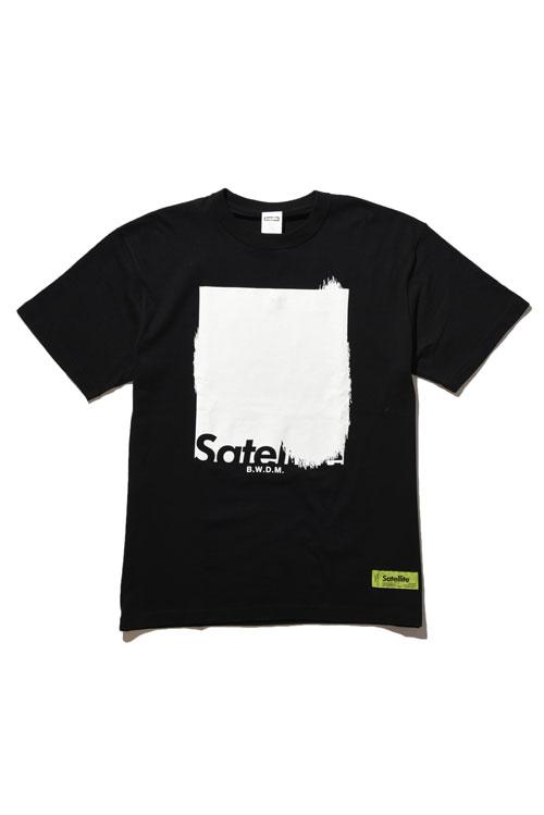 画像1: 【SATELLITE】DRIP SQUARE TEE (1)