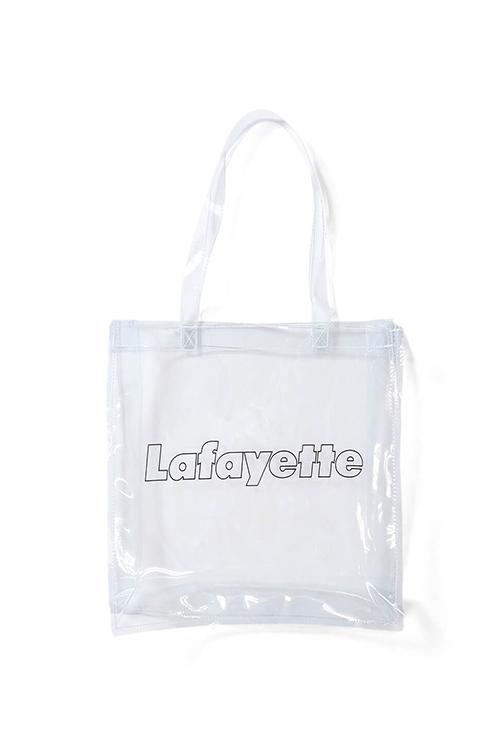 画像1: 【LAFAYETTE】 OUTLINE LOGO PVC CLEAR BAG (1)