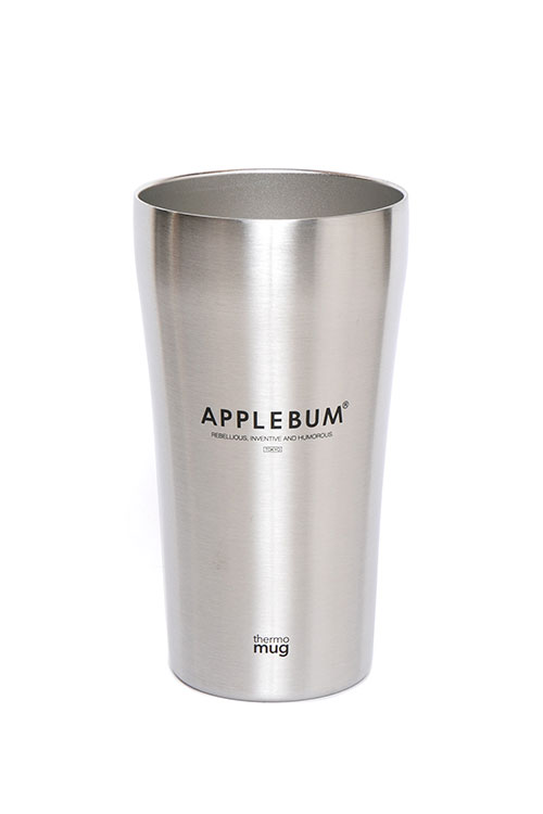画像1: 【APPLEBUM】Thermo Mug Silver Tumbler (1)