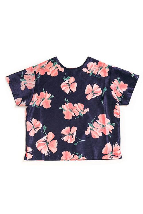 画像1: 【APPLEBUM】Flower Pullover S/S Shirt (1)