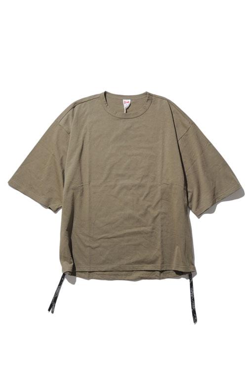 画像1: 【VOTE MAKE NEW CLOTHES】SIDE ZIP TEE (1)