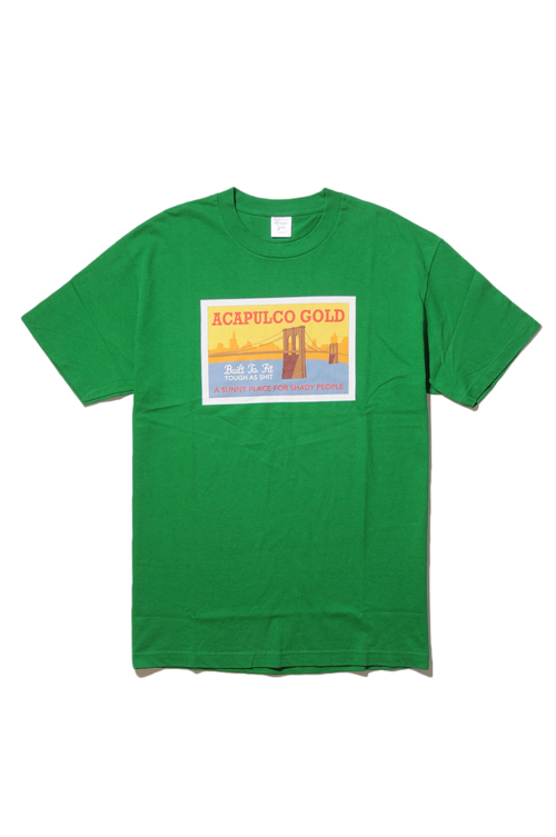 画像1: 【ACAPULCO GOLD】 BROOKLYN BRIDGE TEE (1)