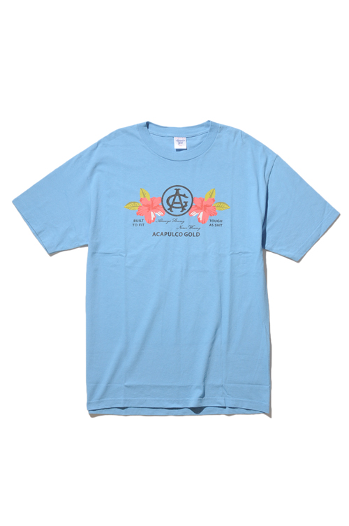 画像1: 【ACAPULCO GOLD】 HAWAIIAN FLOWER TEE (1)