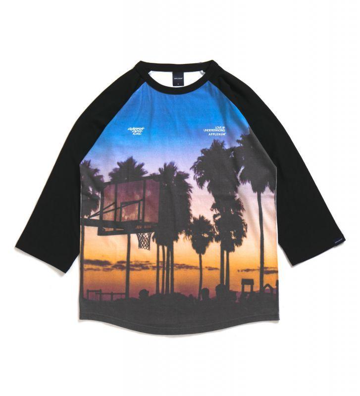 """画像1: 【APPLEBUM】""""Sunset Playground"""" Raglan 3/4 Sleeve T-shirt (1)"""