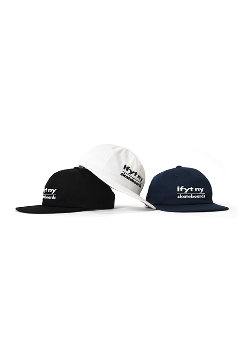 画像1: 【LAFAYETTE】 SKATE LANE FLAT BILL 6PANEL CAP  (1)