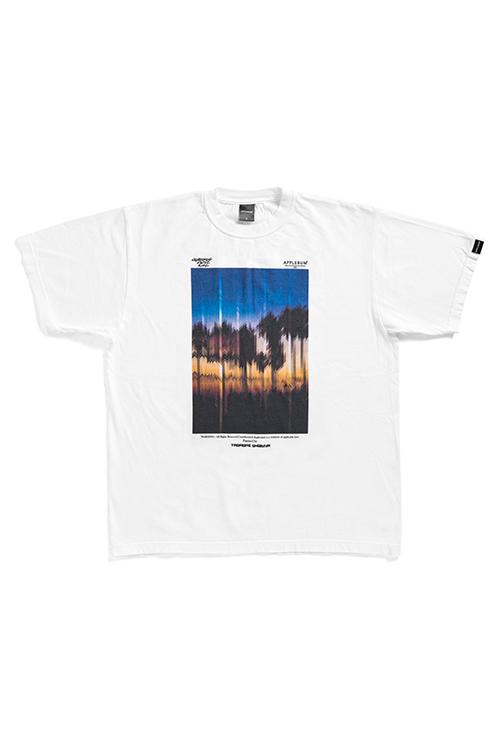 """画像1: 【APPLEBUM】""""Sunset Playground"""" Painted by Tadaomi Shibuya T-shirt (1)"""