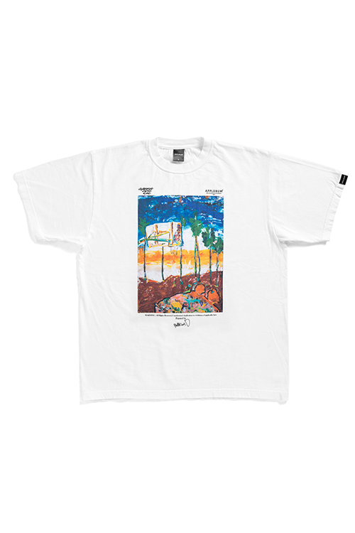 "画像1: 【APPLEBUM】""Sunset Playground"" Painted by RYUSUKE SANO T-shirt (1)"