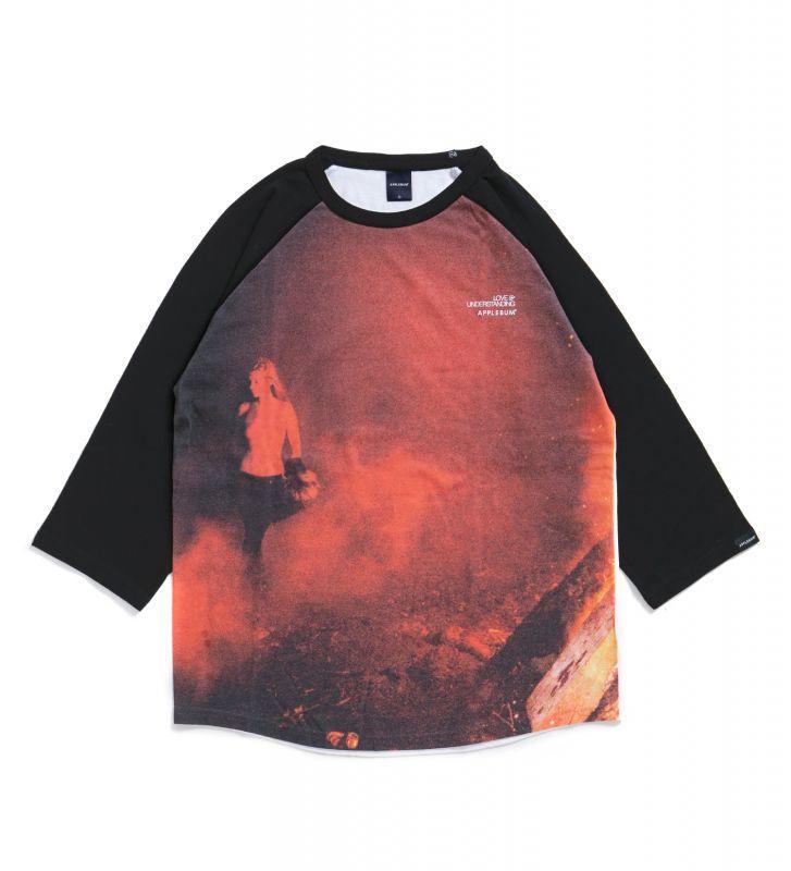 "画像1: 【APPLEBUM】""Kate"" Raglan 3/4 Sleeve T-shirt (1)"