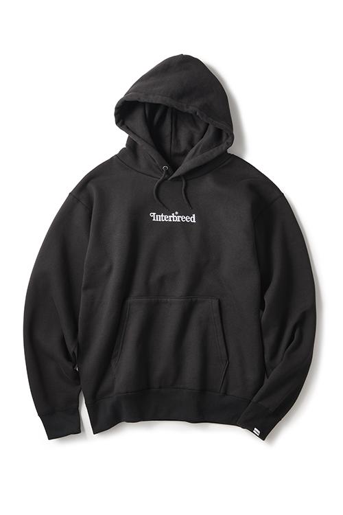 画像1: 【INTERBREED】 Archive Logo Pullover Hoodie (1)