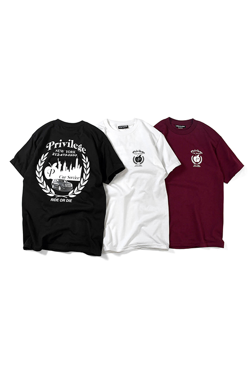 画像1: 【PRIVILEGE】 CAR SERVISE TEE (1)