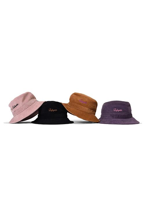 画像1: 【LAFAYETTE】 SCRIPT LOGO CORDUROY BUCKET HAT (1)