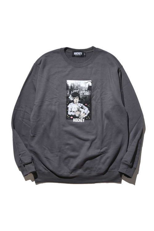 画像1: 【 HOCKEY 】 Lamb Girl Crewneck Sweater (1)