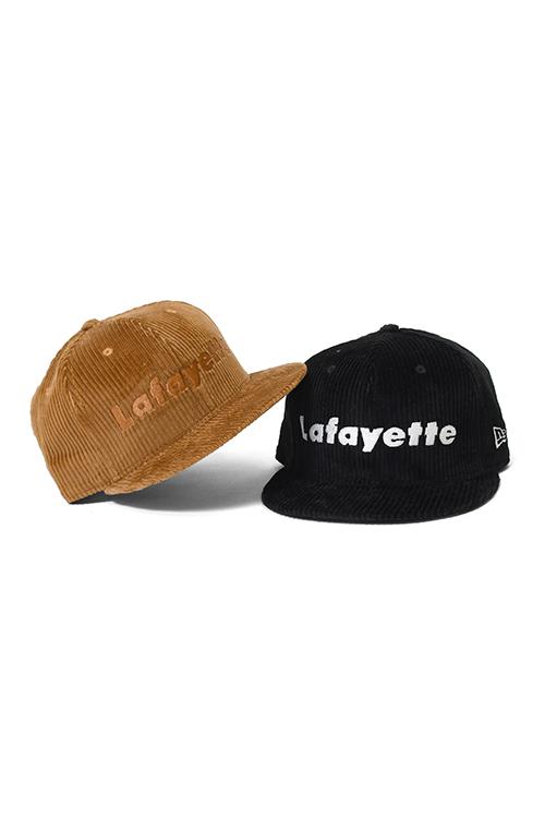 画像1: 【LAFAYETTE】  Lafayette x NEW ERA - LOGO CORDUROY 9FIFTY SNAPBACK CAP (1)